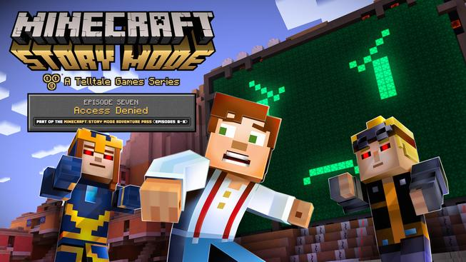 Minecraft: Story Mode - A Telltale Games Series - Episode 7: Access Denied