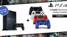 Získejte druhý DualShock za 1 Kč k libovolnému PlayStationu 4 od Xzone!