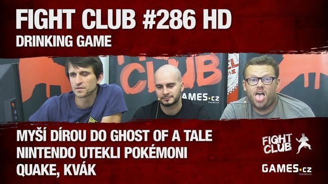 Sledujte Fight Club #286: Drinking Game