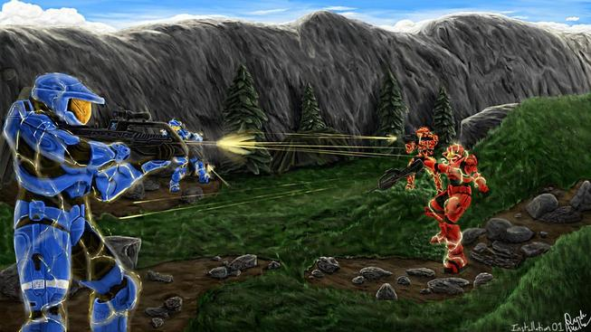"""Installation 01 chce nabídnout multiplayerovou akci ve stylu """"the best of Halo"""""""