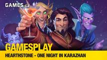 GamesPlay: hrajeme Hearthstone adventure One Night in Karazhan