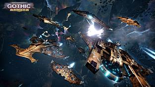 Do Battlefield Gothic: Armada vstupuje vyšší dobro v podobě flotily Tau