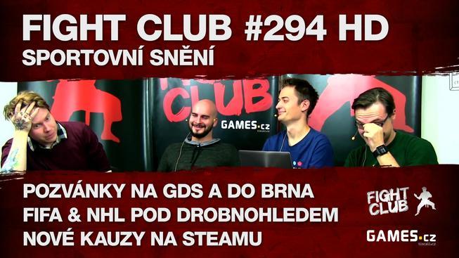 Fight Club #294 HD: Sportovní snění