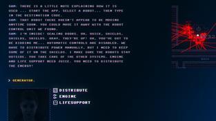 Textová adventura Code 7 vás pošle do vesmíru za počítačovým terminálem
