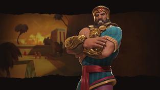 Sumery povede v Civilizaci VI přátelský Gilgameš