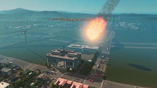 Vývojáři předvádí katastrofy z datadisku Natural Disasters do Cities: Skylines