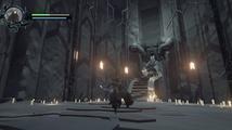 Shattered střídá 2D skákačku a bitvy s obrovskými bossy v pohledu třetí osoby