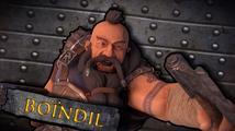 Trpaslík Boindil z The Dwarves má dvě sekery a divokou povahu
