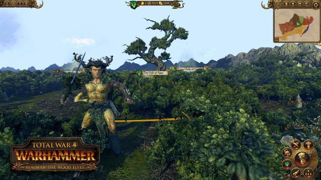 Do Total War: Warhammer napochodovali lesní elfové v čele s Orionem