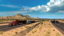 American Truck Simulator rozšířil patch s větším světem