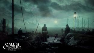 Horor Call of Cthulhu se připomíná správně okultním trailerem
