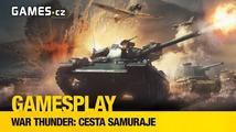 GamesPlay: War Thunder - update 1.65 Cesta samuraje