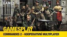 GamesPlay: hrajeme Commandos 2 v kooperaci