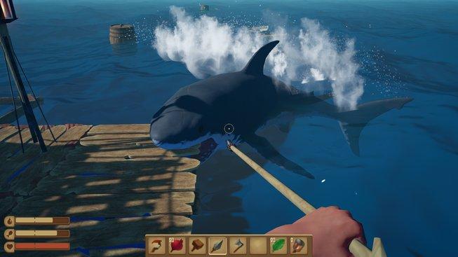 Raft z vás udělá trosečníka na plovoucím kusu dřeva | Games cz