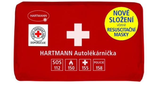 Nyní musí být v motolékárničce stejně jako v autolékárničce resuscitační maska a nikoliv jen resuscitační rouška, Foto: Hartmann