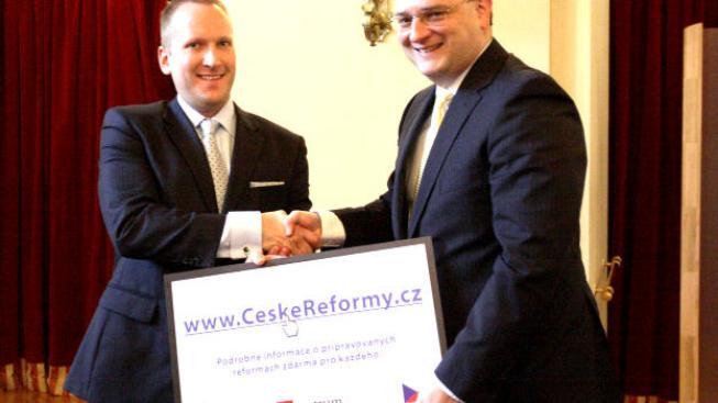 Ekonomický a finanční server NašePeníze.cz svým čtenářům bude informace z webu ČeskéReformy.cz představovat., Foto: Fincentrum