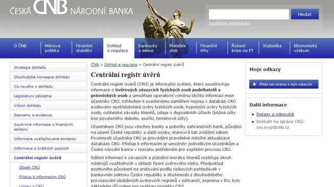 Centrální registr úvěrů (CRÚ)