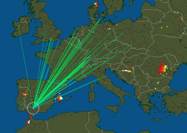 Mapa blesků