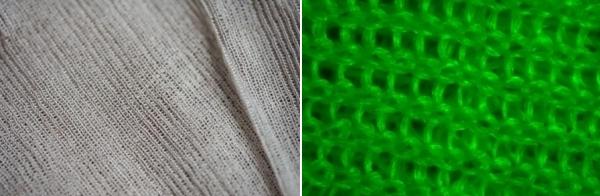 Tkanina z upraveného vlákna