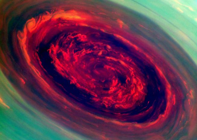 Víry v atmosféře Saturnu