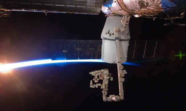 Modul Dragon u ISS