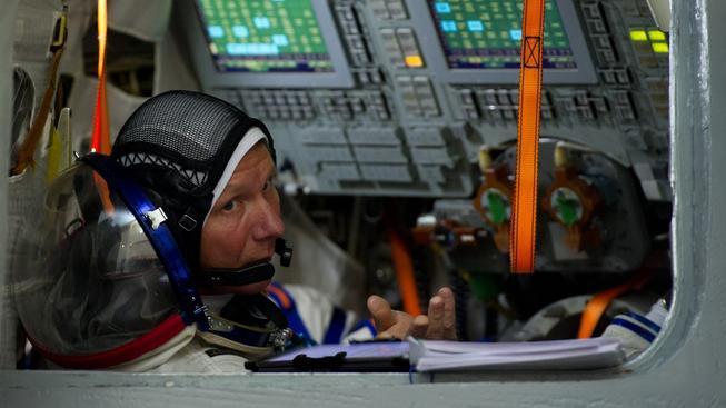 Gennadij Padalka je světovým rekordmanem v délce pobytu v kosmu