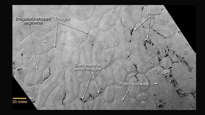 Snímky Pluta ze sondy New Horizon