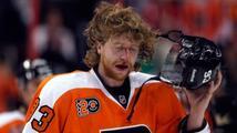 Philadelphia přišla v NHL o dalšího hráče, Talbot si zlomil nohu