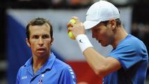 Česko si zahraje opět finále Davis Cupu. Berdych se Štěpánkem ve čtyřhře nezaváhali