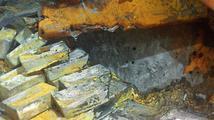 Z potopené britské lodi se podařilo zachránit 48 tun stříbra