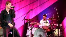 Oblíbení britští Keane v pražské Lucerně nabídli novinky i hity