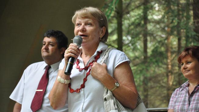 Vítězslava Baborová.