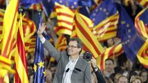 Španělsko: Katalánské volby vyhráli separatisté, čeká se odtržení