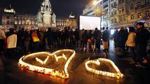Česko uctívalo první výročí úmrtí Václava Havla