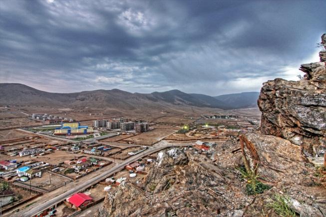Pohled na Ulánbátar