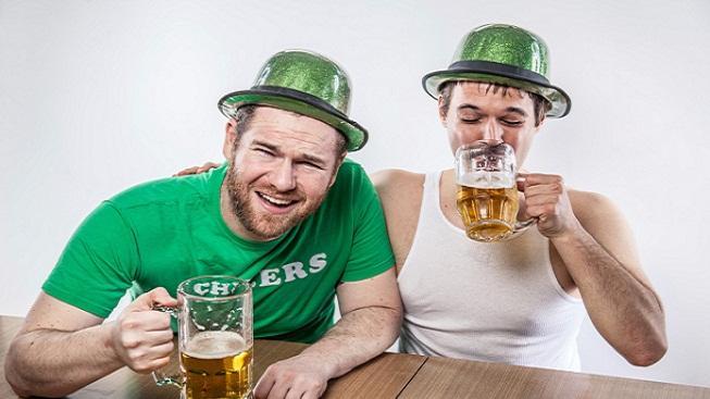 Pití piva v Irsku
