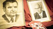 Komunisté včetně poslankyně uctili Gottwalda, akci provázel tvrdý nesouhlas
