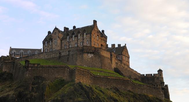 Edinburghský hrad