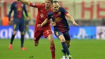 Bayern v úvodním semifinále Ligy mistrů deklasoval Barcelonu 4:0