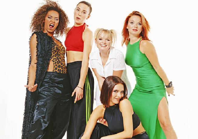 Spice Girls v době své největší slávy