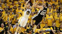 Basketbalisté San Antonia vyřadili Golden State