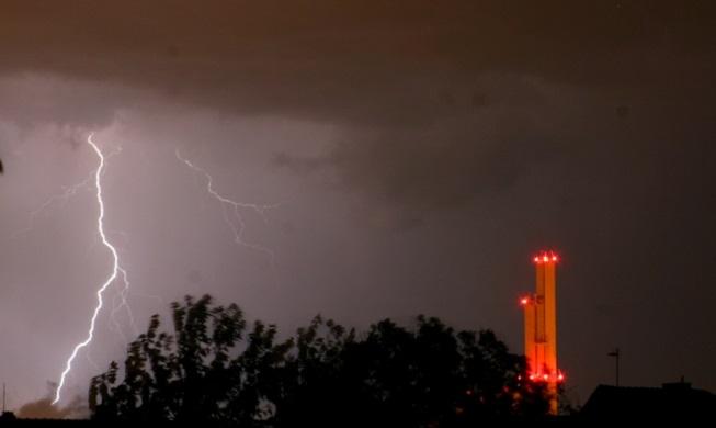 Bouřky v Praze