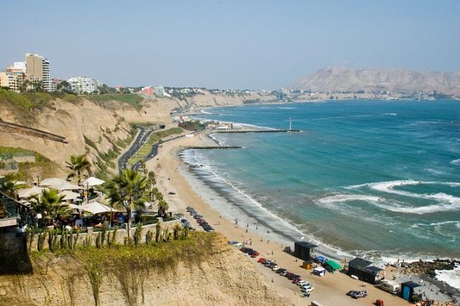Lima, pláž