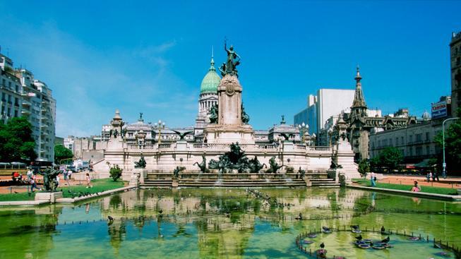 Budova Kongresu v Buenos Aires