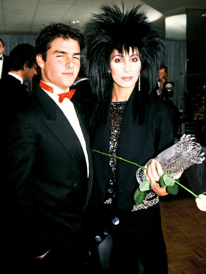 Cher a Tom Cruise