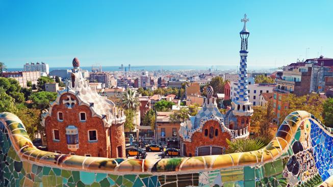 Park Guell v Barceloně
