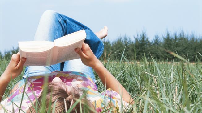 Čtení knihy