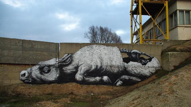 Zvířecí graffiti