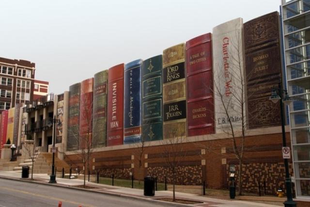 Veřejná knihovna v Kansasu