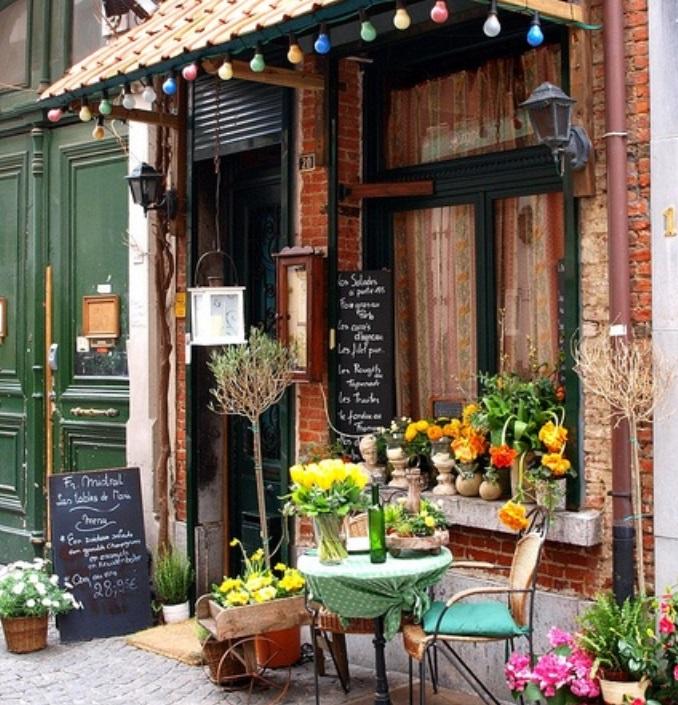 Kavárna v Antverpách